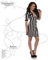 Sexy Referee Costume Dress