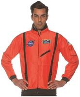 Orange Astronaut Space Jacket Teen Costume Accessory