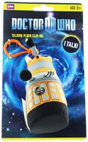 "Doctor Who 4"" Talking Plush Clip On Orange Dalek"