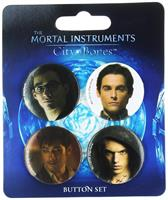 The Mortal Instruments City of Bones 4-Piece Button Set