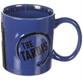 Doctor Who TARDIS 2D Relief 11oz. Ceramic Mug