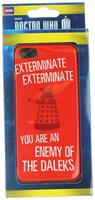 Doctor Who iPhone 5 Hard Snap Case Exterminate You Are The Enemy Of The Daleks