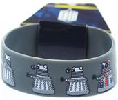Doctor Who Rubber Wristband Union Flag Dalek Repeat