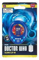 Doctor Who TARDIS Pocket Pal Talking Clip-On Key Ring