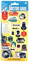 Doctor Who Assorted 22-Piece Sticker Sheet Set
