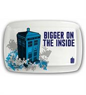 "Doctor Who TARDIS ""Bigger on the Inside"" Serving Tray"