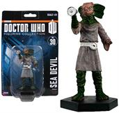 "Doctor Who Sea Devil 4"" Resin Figure"