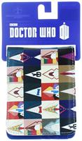 Doctor Who Bi Fold Wallet All Doctors