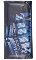Doctor Who Embossed Women's Wallet: Retro TARDIS