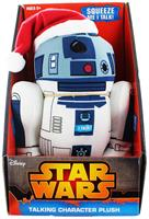 "Star Wars 9"" Talking Plush: Santa R2-D2"