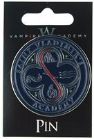 Vampire Academy St. Vladimir's School Badge Pin