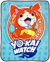 "Yo-Kai Watch Jibanyan 50""x60"" Fleece Throw Blanket"