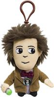 "Doctor Who 4"" Matt Smith Talking Plush Clip On"