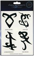 The Mortal Instruments City Of Bones Tatoos Battle Runes 8 Pack