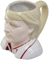 Doctor Who 5th Doctor Peter Davison Ceramic 3D Toby Jug Mug