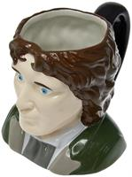 Doctor Who 8th Doctor Paul Mcgann Ceramic 3D Toby Jug Mug