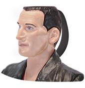 Doctor Who 9th Doctor Christopher Eccleston Ceramic 3D Toby Jug Mug
