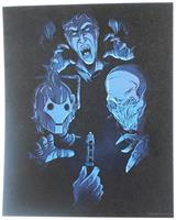 Doctor Who Art Print Card