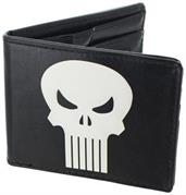 The Punisher Leather Bifold Wallet