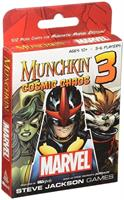 "Marvel 3 Munchkin ""Cosmic Chaos"" Expansion Card Game"