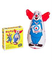 "Bozo The Clown Inflatable 7"" Bozo Finger Bop Punching Bag"