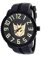 Transformers Collector Edition Watch Decepticon Black With Gold