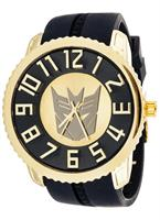 Transformers Collector Edition Watch Decepticon Gold With Black
