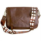 "Star Wars Chewbacca Faux Leather 15""x10"" Messenger Bag"