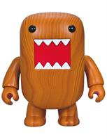 "Domo Deluxe Qee 7"" Wood Grain Figure"