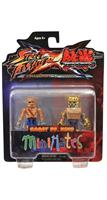 Street Fighter X Tekken Minimates Figure 2 Pack Sagat vs King