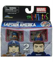 Marvel Minimates Series 40 Frontline Captain America and Bucky