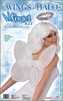 Angel Wings and Halo Costume Accessory Kit White