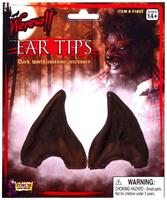 Brown Werewolf Ear Tips Costume Accessory