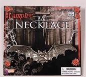 Gothic Bat Costume Necklace Accessory