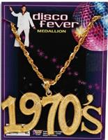 "Disco Fever ""1970's"" Costume Necklace"