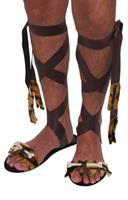 Stone Age Men's Costume Sandals One Size