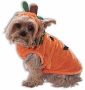 Orange Pumpkin Dog Cat Pet Costume