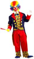 Checkers The Clown Costume Adult