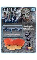 Prosthetic Rotted Zombie Teeth Costume Accessory
