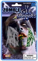 18 pc. Zombie Glo Maggots Costume Accessory
