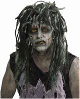 Zombie Rocker Adult Costume Wig