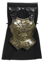 Roman Armor Chest Plate and Cape Costume Accessory Set