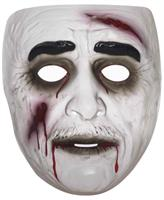 Transparent Male Zombie Costume Mask