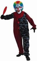 Creepo the Clown Jumpsuit Costume Adult
