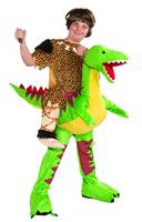 Caveboy Dinosaur Rider Costume Child