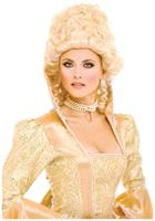 1600's Colonial Blonde Style Female Adult Costume Wig by French Kiss