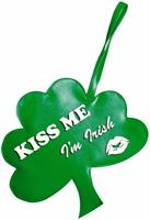 St Patrick's Day Kiss Me I'm Irish Shamrock Costume Handbag Purse