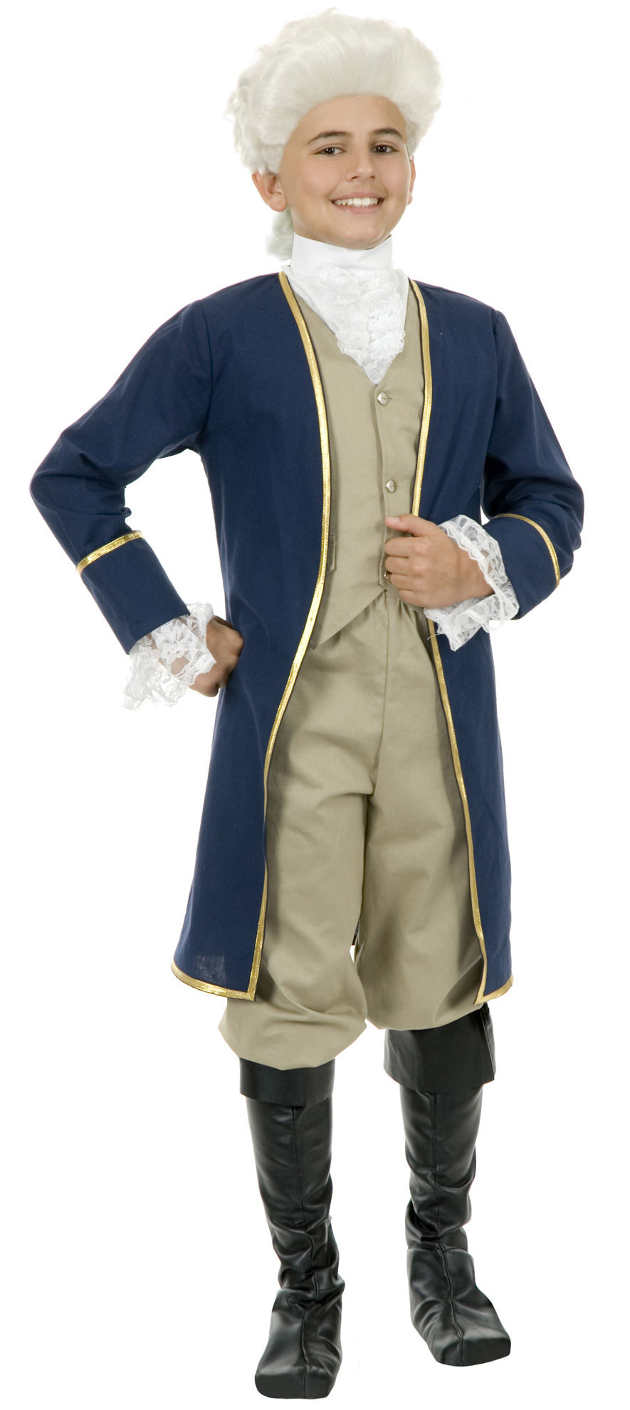 George Washington Child Costume Partybell Com