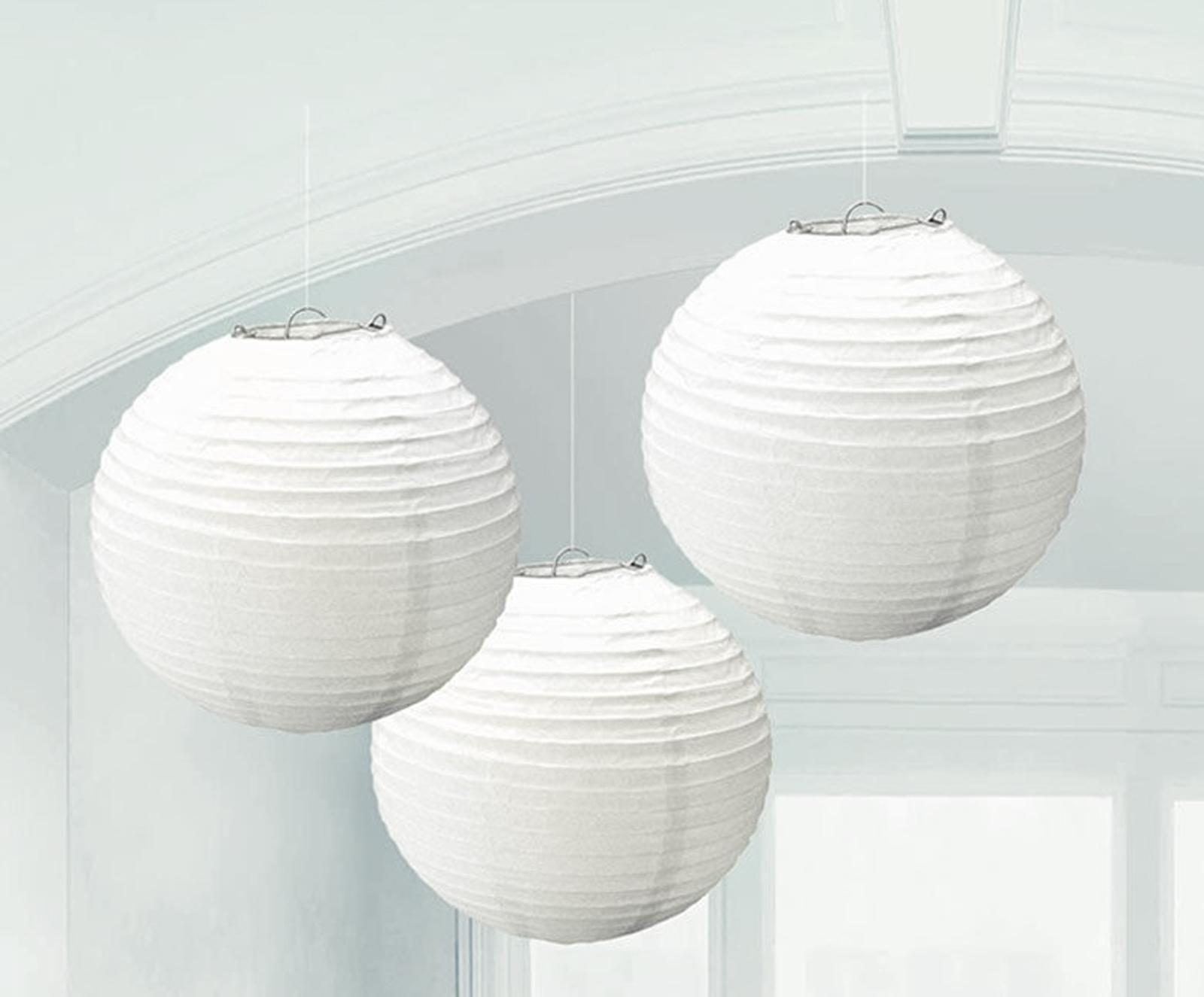 Round Paper Lanterns Partybell Com