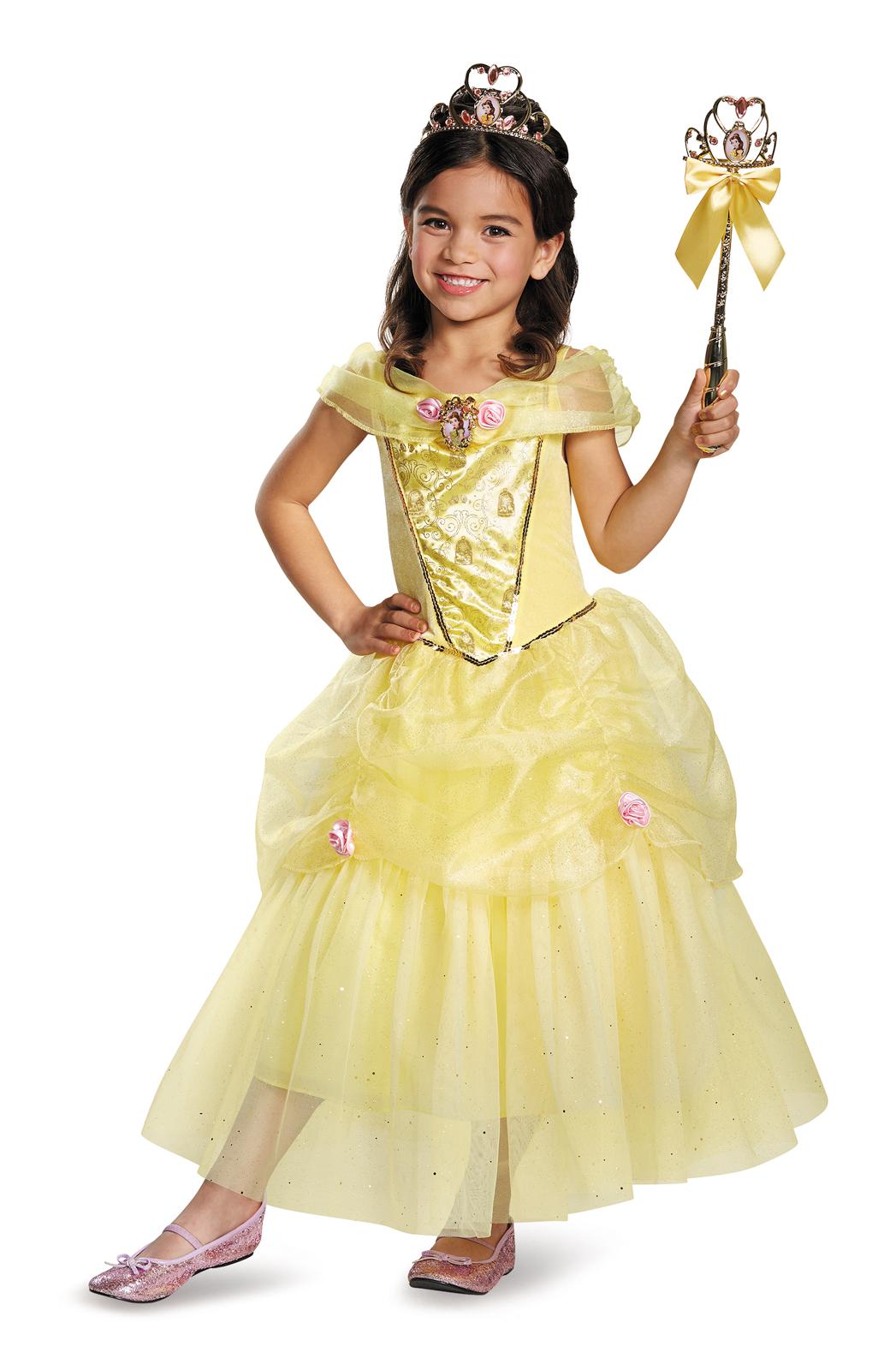 Disney Belle Deluxe Sparkle Toddler Child Costume